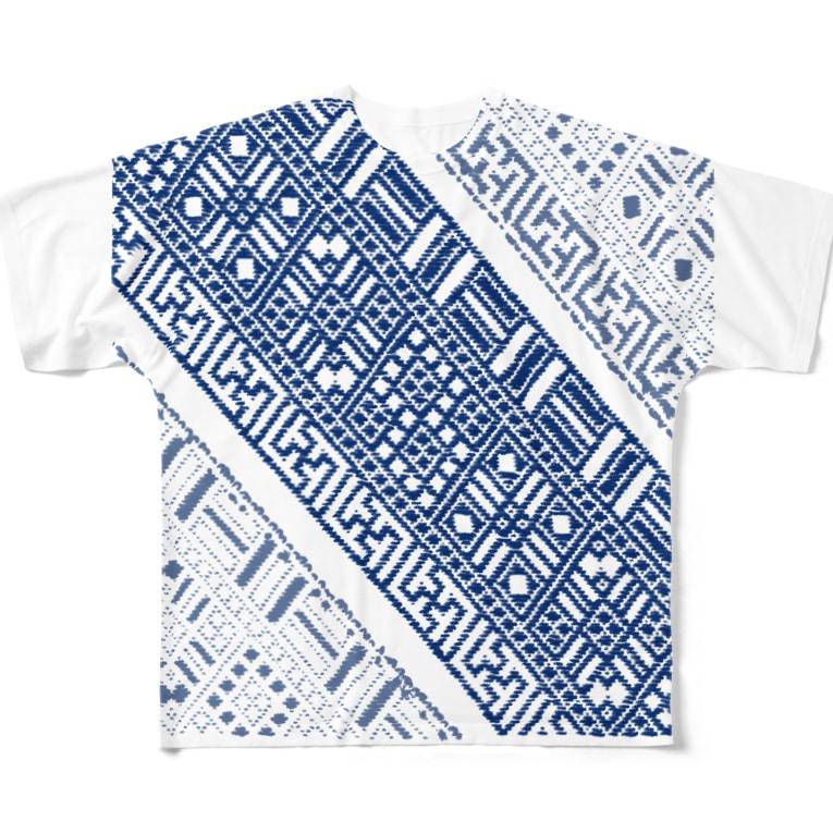SUZURI No.011 裏表A フルグラフィックTシャツ
